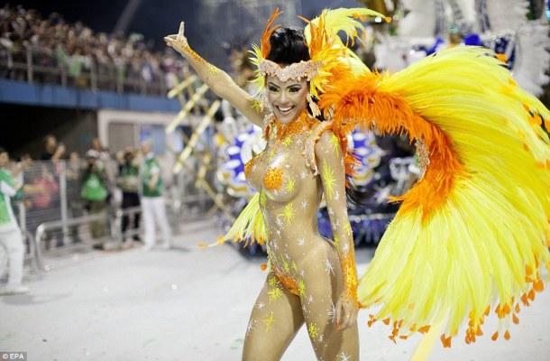 Carnival Time in Brazil!