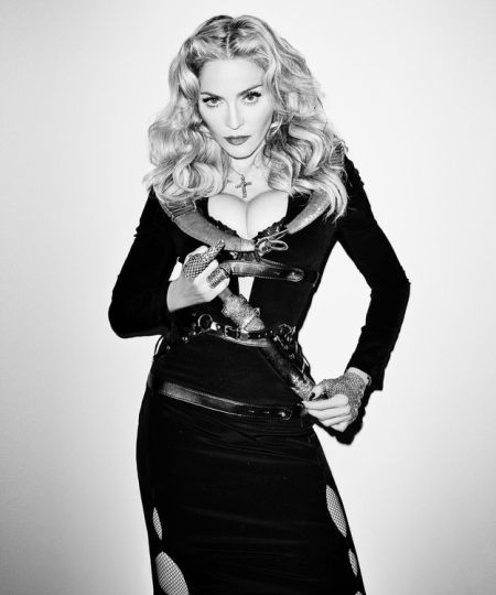 Madonna's Boobs Look Like a Butt