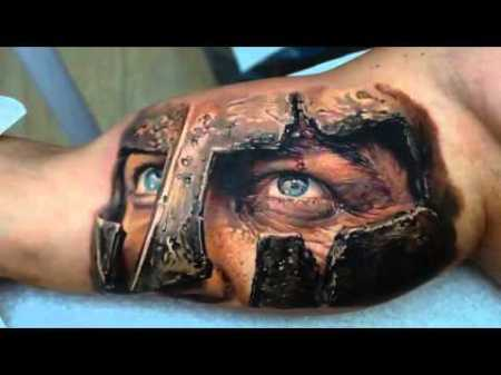 Some Amazing 3D Tattoos