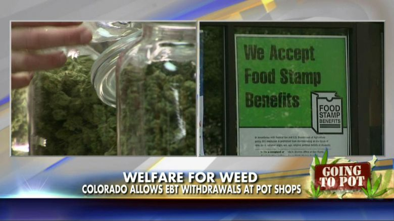 Colorado Pot Shops Currently Have ATMs Where Welfare Recipients Can Withdraw Cash Using Their EBT Cards A State Senate Committee Rejected Republicans