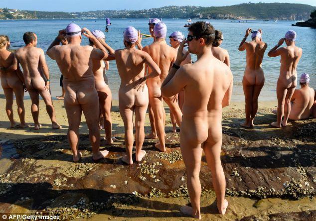 Swim nude in australia