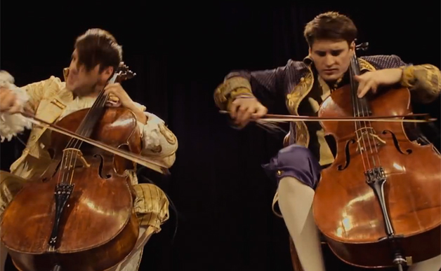 2 Cello's Cover of AC/DC's 'Thunderstruck' – Cyber Gazing