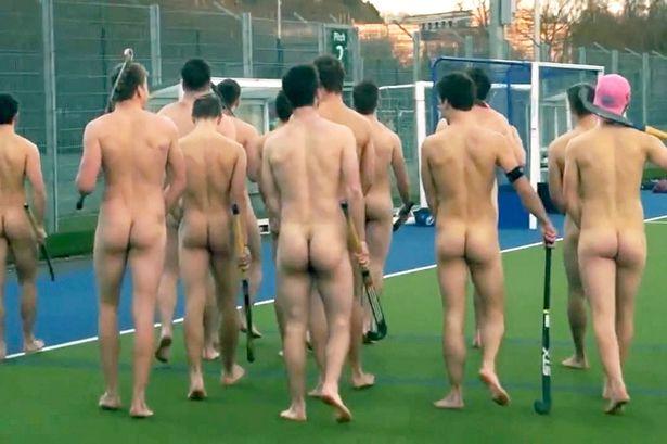 Naked Frisbee Team 118