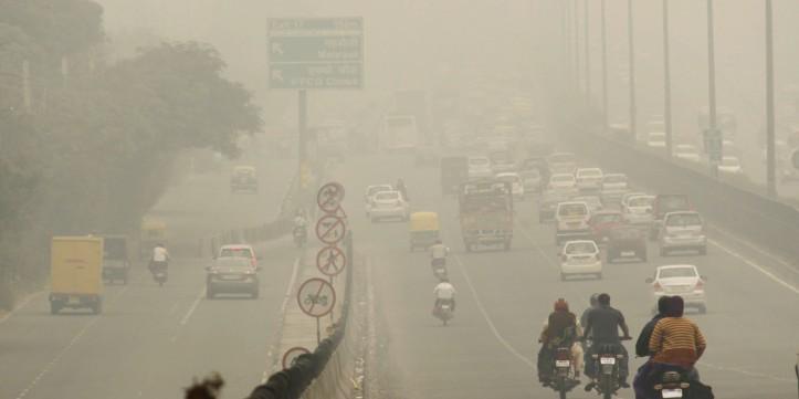 Foggy Weather In Delhi/NCR