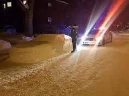car made of snow