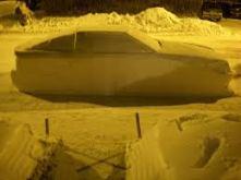 car made of snow2