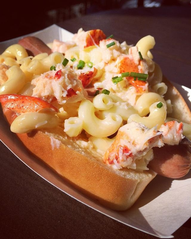 Lobster Mac And Cheese Hot Dog Cyber Gazing