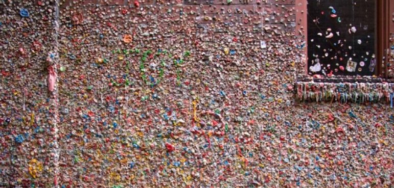 Image result for seattle gum wall